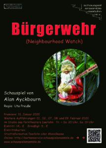 Plakat Bürgerwehr